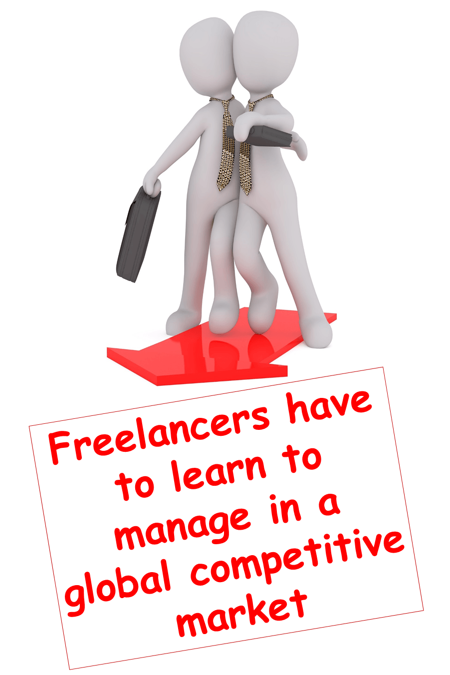 Freelancers have to learn to manage being in a global competitive market. It is not easy being a caring parent and having to make the decision to return to work when your children are young.