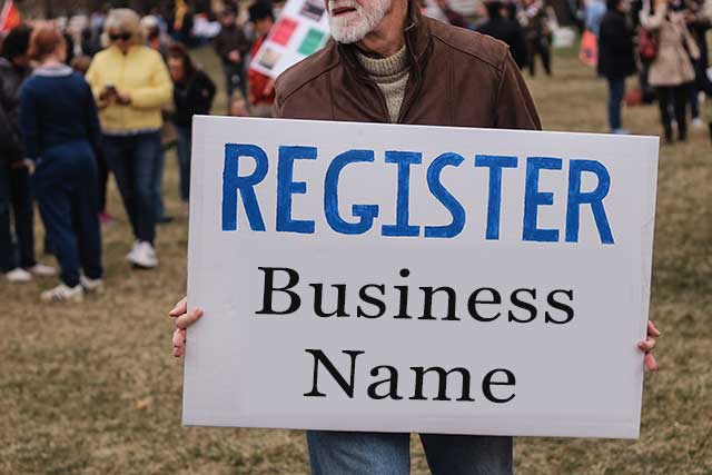 Register A Business Name