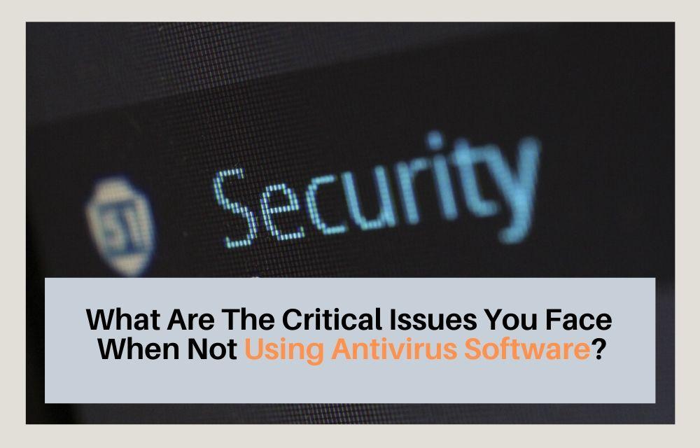 Using Antivirus Software