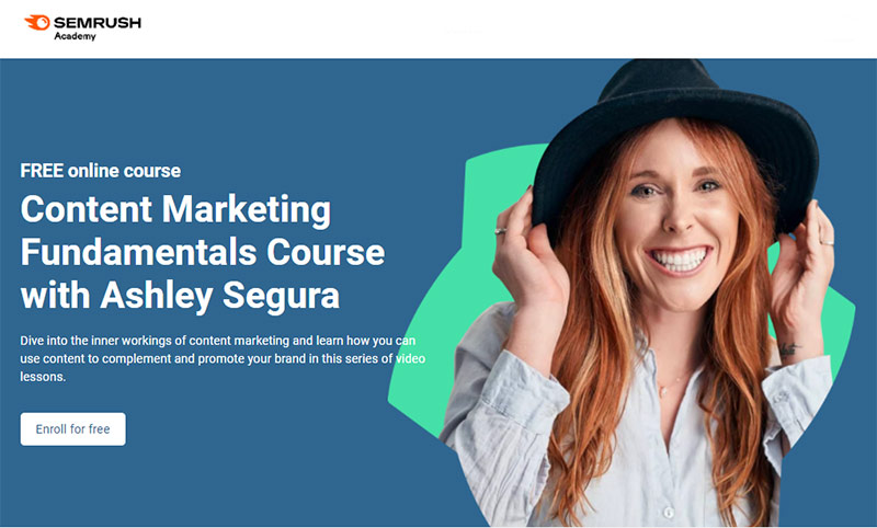 Content Marketing Fundamentals Course with Ashley Segura