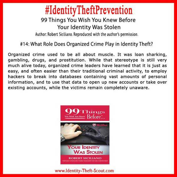 What Role Does Organized Crime Play In Identity Theft?