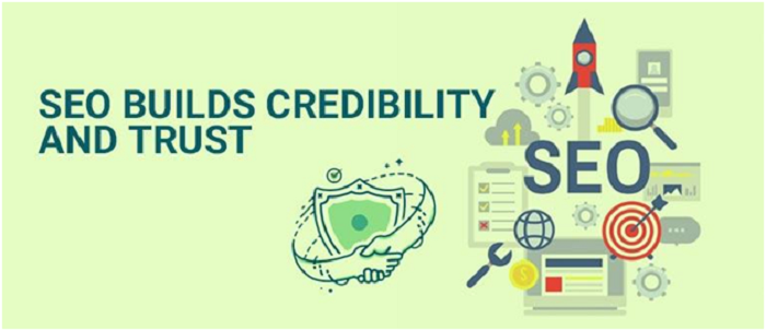SEO Builds Credibility and Trust