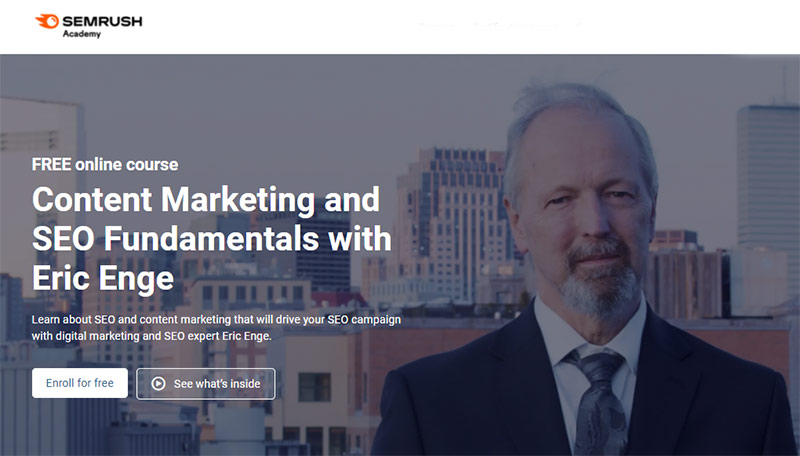 Content Marketing and SEO Fundamentals with Eric Enge