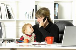 balancing family life and work