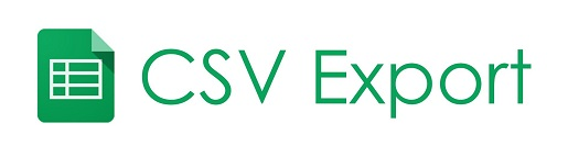 Export data to a CSV file