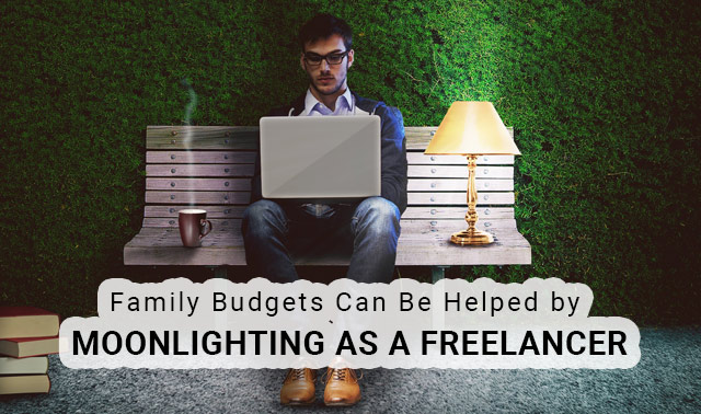 family budgets helped by moonlighting