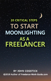 ebook about moonlighting as a freelancer