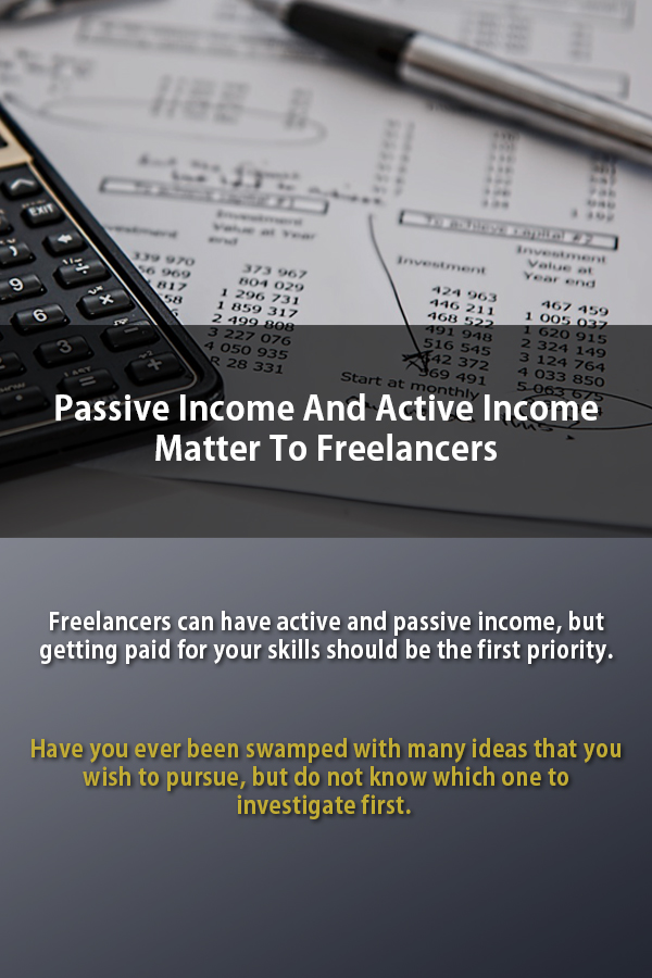 passive and active income matter