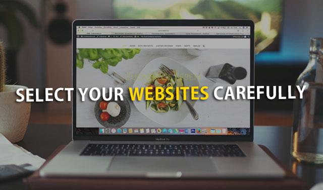 Select Websites
