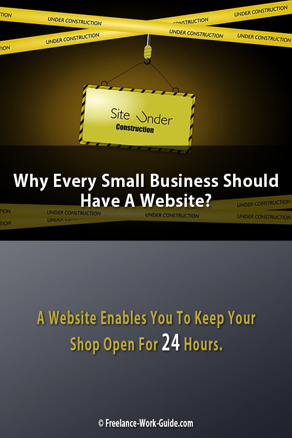 Small Business Should Have A Website
