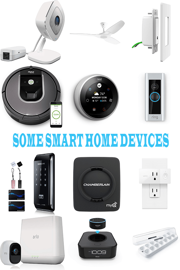 A List of Smart Devices