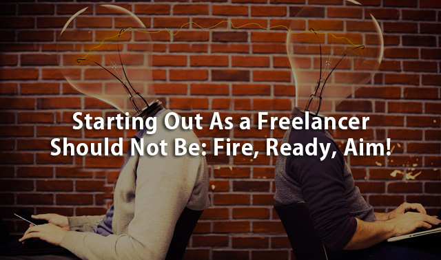 starting out as a freelancer