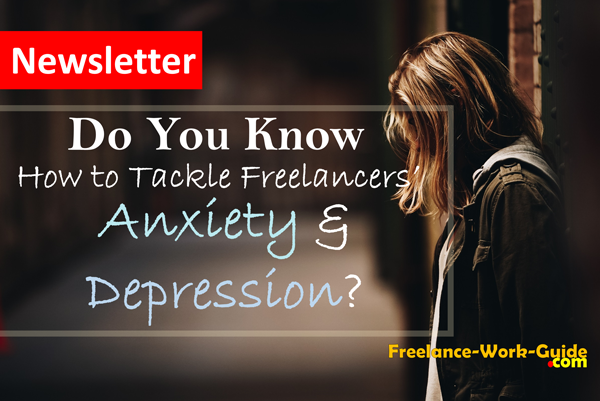 Do you know how to tackle freelancers' anxiety and depression?
