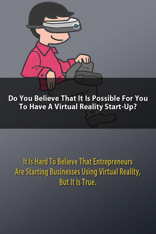 Virtual Reality Start Up