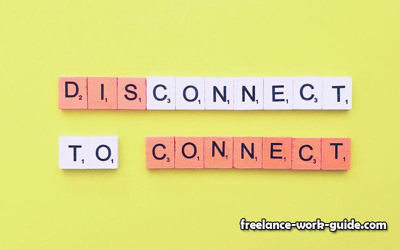 Disconnect & Reboot Often