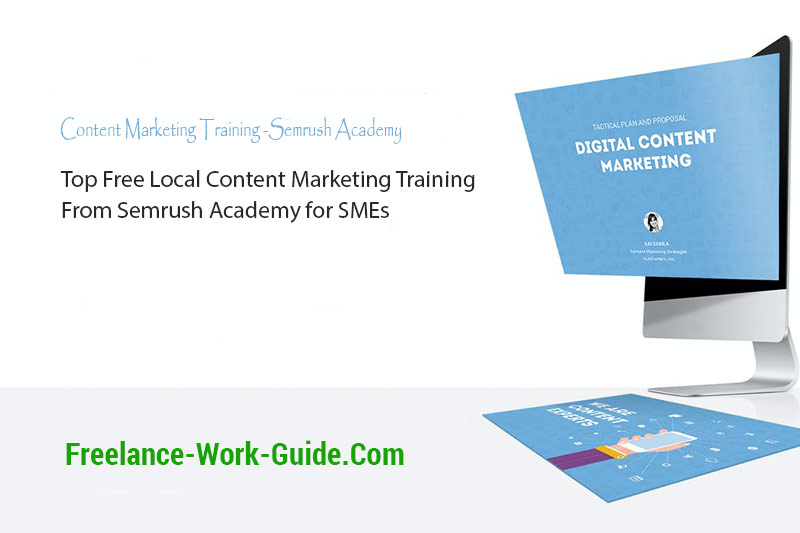 Top Free Content Marketing Training From Semrush Academy for SMEs