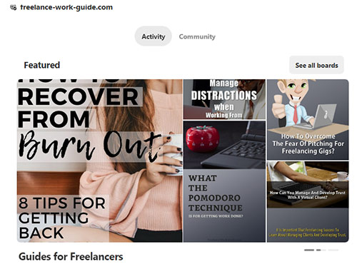 Pinterest to showcase your products