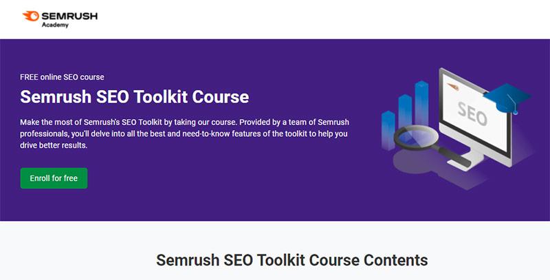 Semrush SEO Toolkit Course