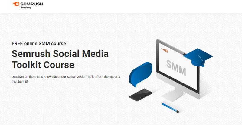 Semrush Social Media Toolkit Course