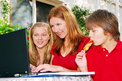 Best work at home jobs give you more time with your family.