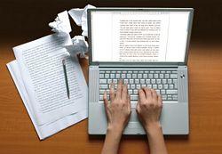 busy freelance writer