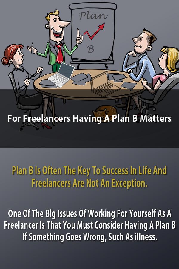 Freelancers Plan B Matter