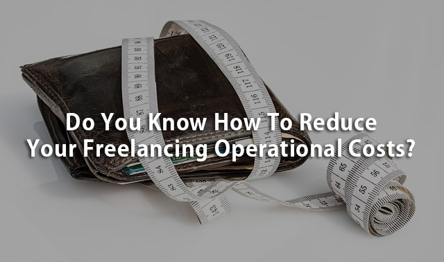 reduce freelancing costs