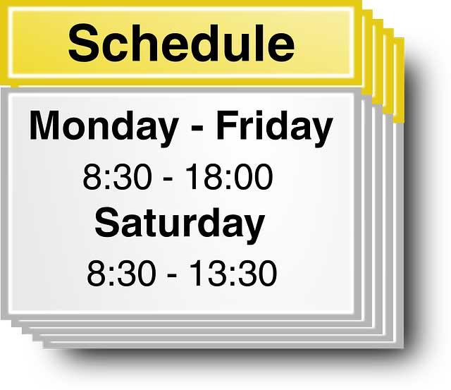 Efficiently Schedule